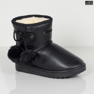 """Cizme Copii """"Fashion WL-1 Black"""" [D23B5]"""