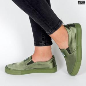 Espadrile ''ABC H2115 Army Green'' [D23B11]