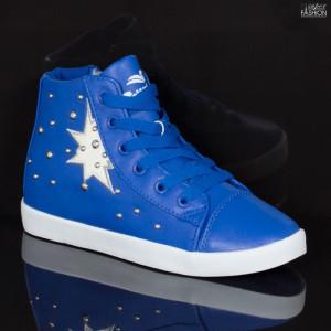 Ghete Sport Copii ''NCD Fashion 607 Blue'' [S19C10]