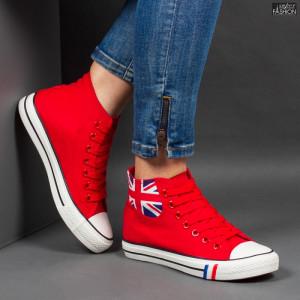 Ghete Sport ''WE Fashion A19 Red'' [D18C6]