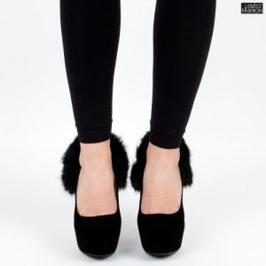pantofi dama negri eleganti