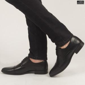 Pantofi ''OUGE RO-003 Black'' [S1C3]