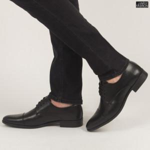 Pantofi ''OUGE RO-005 Black'' [S8F6]