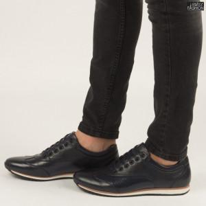 Pantofi ''Renda 34-1D Blue'' [S1F1]