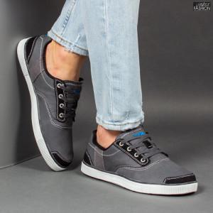 Pantofi Sport ''23DEC. 1311B D. Grey''