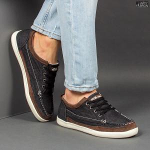 Pantofi Sport ''23DEC. M9033-01 Black Brown'' [S2E2]