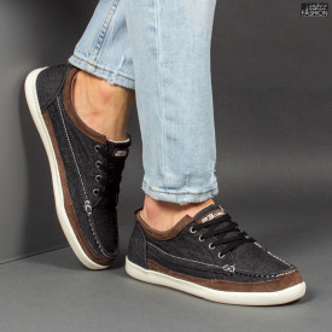 Pantofi Sport ''23DEC. M9033-01 Black Brown''