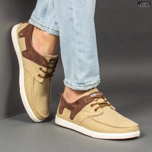 Pantofi Sport ''23DEC. M9037-04 Beige'' [S8D1]