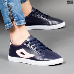Pantofi Sport ''ALD Fashion HQ-118 Navy Pink'' [D9C1]