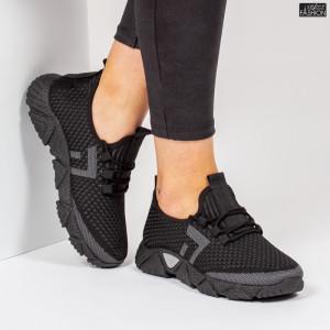 Pantofi Sport ''ALD Fashion HQ-203-238 Black Grey''