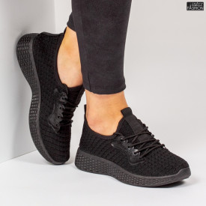 Pantofi Sport ''ALD Fashion HQ-34-153 Black'' [D23E10]