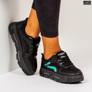 "Pantofi Sport ""ALL Fashion 317 Black"""