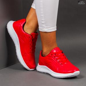 """Pantofi Sport """"ALL Fashion B8112-3 Red Black"""""""