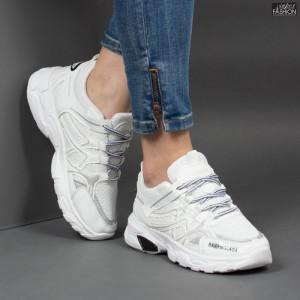 Pantofi Sport ''BAO SPORT 201 White'' [D9C2]