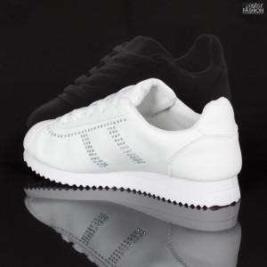 pantofi sport fete albi