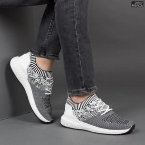 Pantofi Sport ''Fashion Balq K-8 White''