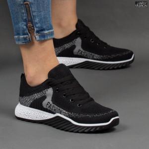 Pantofi Sport ''Fashion Style C59 Black Grey'' [D23B12]
