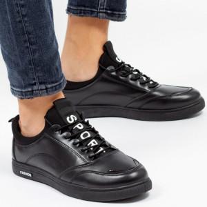 Pantofi sport ''Khatlon 1803 Black'' [S23E7]
