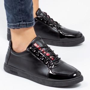 Pantofi sport ''Khatlon 183 Color Black'' [S4B2]