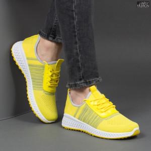 Pantofi Sport ''Meek F-2906 Yellow'' [S12C1]
