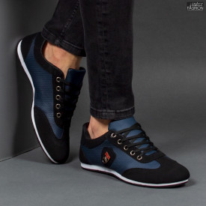 "Pantofi Sport ""Meek G-818-1 Black Blue"""