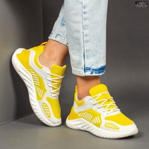 Pantofi Sport ''Mei NX85 Yellow'' [D4D2]