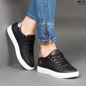 Pantofi Sport ''MERIDIAN Fashion 912 Black Silver''