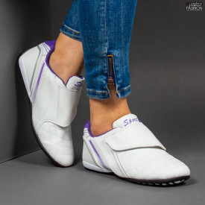 Pantofi Sport ''NCD Fashion 9088 White Purple''