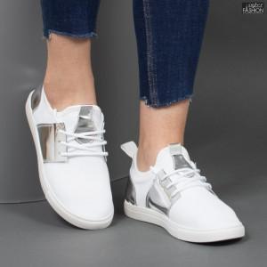 """Pantofi Sport """"Rodman AN2208 White Silver"""" [D14E6]"""