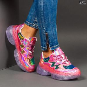 Pantofi Sport ''Se7.en X612 Pink''