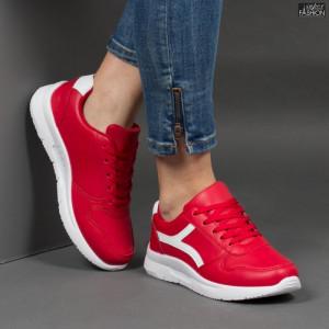 Pantofi Sport ''Veer Fashion A1815-5 Red'' [D20E7]