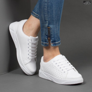 Pantofi Sport ''Veer Fashion F1826-2 White'' [D5D1]