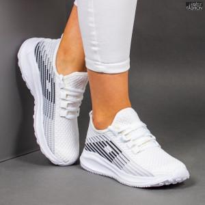 Pantofi Sport ''WE Fashion 3302 White '' [D12B12]