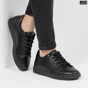 Pantofi Sport ''WE Fashion B111 Black Black'' [S10E3]