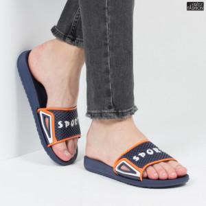 """Papuci """"Aierda 89 D. Blue Orange''"""