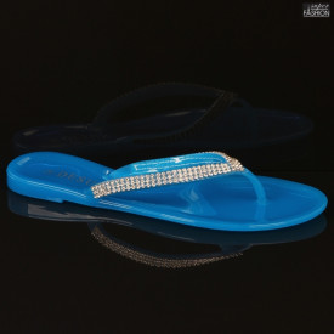 Papuci ''DeSun T292 Translucent Pale Blue''