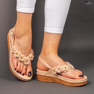 Sandale ''ALD Fashion HQ-L7093 Nude'' [D16D1]