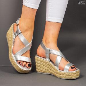 Sandale ''Bestelle Fashion JA002 Silver'' [D10E6]