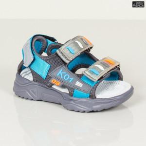 Sandale Copii ''DION B5 D. Grey'' [D9C10]
