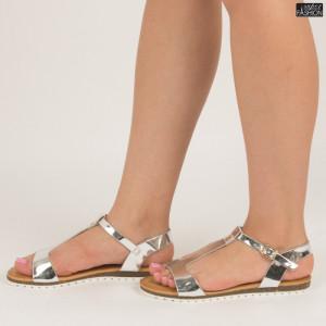 sandale dama gri inchis