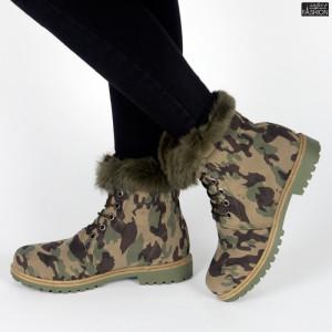 Ghete ''GGM 1808 Green Camouflage''