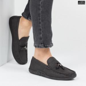 """Pantofi """"Fashion 921-2 Black"""" [S1F7]"""