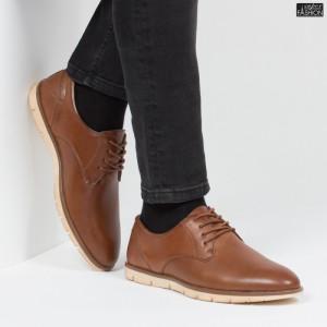 Pantofi ''Free Fashion L16031 Brown'' [S7B6]
