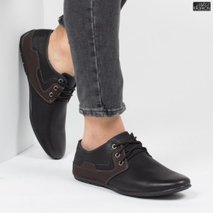 Pantofi ''HeroWay A8003-8 Black''