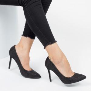 Pantofi ''Mei XKK0501 Black'' [D1F2]