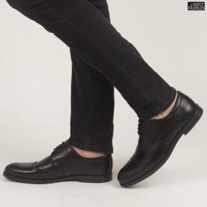 Pantofi ''OUGE RO-002 Black'' [S6F2]