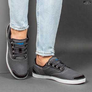Pantofi Sport ''23DEC. 1311B D. Grey'' [S9C6]