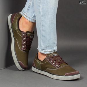 Pantofi Sport ''23DEC. 1311B Green'' [S13A3]