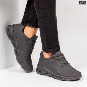 """Pantofi Sport """"ALD Fashion HQ-107-086 Grey''"""