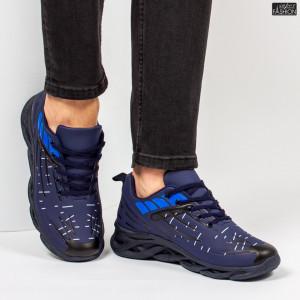 "Pantofi Sport ""ALD Fashion HQ-110-102 Navy R. Blue''"